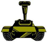 Battle tank royalty free illustration