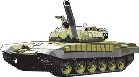 Battle tank Royalty Free Stock Photography