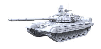 Battle Tank Stock Photo