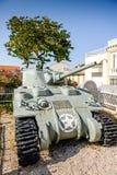 Battle tank memorial Royalty Free Stock Images