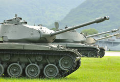 Battle tank Stock Images