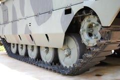 Battle Tank Tracks Royalty Free Stock Image