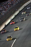 Battle into Turn 1 at Lowes! Royalty Free Stock Photography