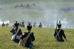 Battle of Waterloo royalty free stock photography