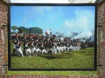 BATTLE OF WATERLOO, BELGIUM Royalty Free Stock Photo