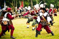 Battle of White Mountain 2016 Royalty Free Stock Photo