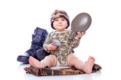 battledress μωρών Στοκ Φωτογραφίες