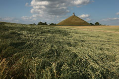 Battlefield of the Battle of Waterloo (1815) near Brussels, Belg Royalty Free Stock Images