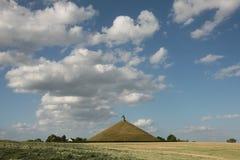 Battlefield of the Battle of Waterloo (1815) near Brussels, Belg Stock Image
