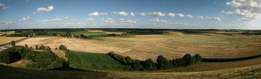 Battlefield of the Battle of Waterloo near Brussels, Belgium. Stock Photography