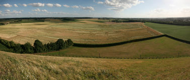 Battlefield of the Battle of Waterloo near Brussels, Belgium. Royalty Free Stock Photos