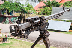 Battlefield cannon Stock Image