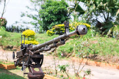 Battlefield cannon Stock Photography