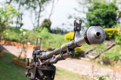 Battlefield cannon Stock Photos