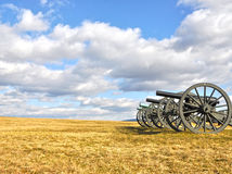 Battlefield Cannons Stock Image