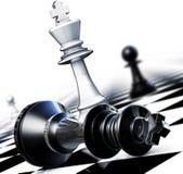 Battlefield. 3D illustration of an winning concept Stock Image