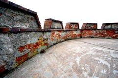 battlement στέγη Στοκ φωτογραφία με δικαίωμα ελεύθερης χρήσης
