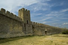 Battlement Royalty Free Stock Photography
