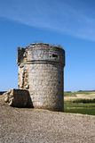 Battlement of the castle of Trigeros del valle Royalty Free Stock Photo
