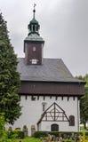 Battlement church,Marienberg, Germany Royalty Free Stock Photography