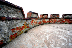 Battlement roof Royalty Free Stock Photography