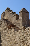 Battlements Royalty Free Stock Photo