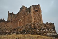 Battlements , Castle of Montalban , San Martin de Montalban , To Royalty Free Stock Photo
