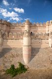 Battlements of coca castle Royalty Free Stock Photo