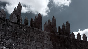 Battlements Stock Photos