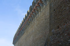 Battlements Royalty Free Stock Images