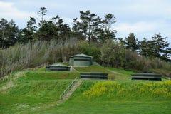 battlementtappning Arkivbild