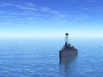 Battleship Royalty Free Stock Images