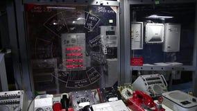 Battleship battle station stock footage