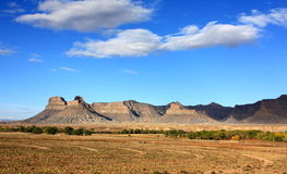 Battleship Butte to Middle Mountain Stock Images