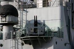 Battleship cannon Royalty Free Stock Photography