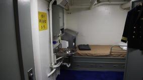 Battleship doctor room stock footage