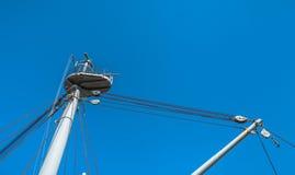 Battleship Gun Mast Royalty Free Stock Photography