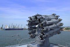Battleship gun Royalty Free Stock Photography
