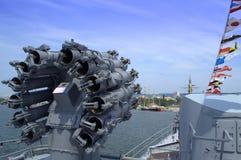 Battleship gun Royalty Free Stock Photo