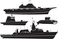 Battleship Royalty Free Stock Images
