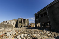 Battleship Island An apartment block Royalty Free Stock Photos