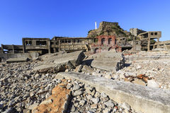 Battleship Island center area Royalty Free Stock Photo