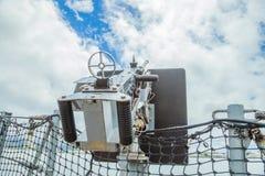 Battleship machine gun Royalty Free Stock Photo