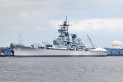 Battleship New Jersey Royalty Free Stock Image