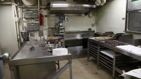Battleship pastry shop stock video footage