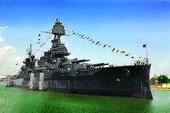 Battleship texas Stock Image