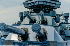 The Battleship Texas Stock Image