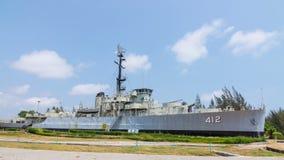 Battleship stock video footage