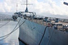 Battleship U.S.S. Missouri, Pearl harbor Stock Photo