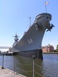 Battleship - U.S.S. Wisconsin Royalty Free Stock Photo